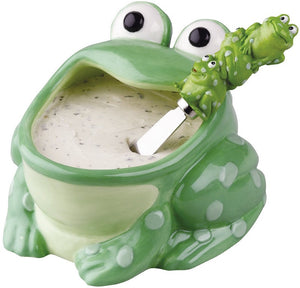Frog Dip Bowl & Spreader Set