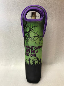 Halloween Forget Candy Wine Tote