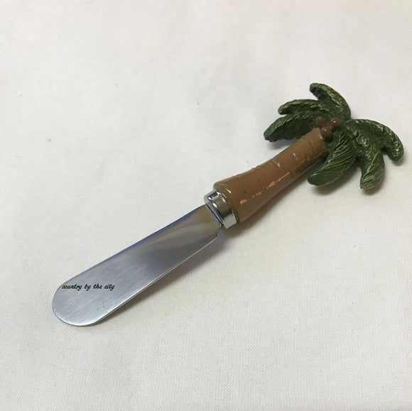 Palm Tree Cheese Spreader