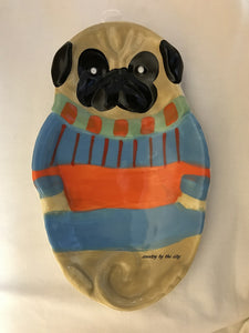 Pugly DogSweater Spoonrest