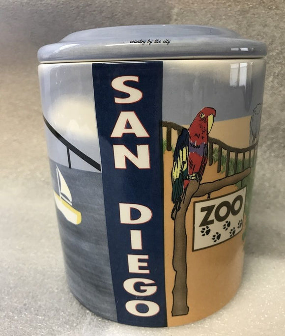 San Diego Cookie Treat Canister