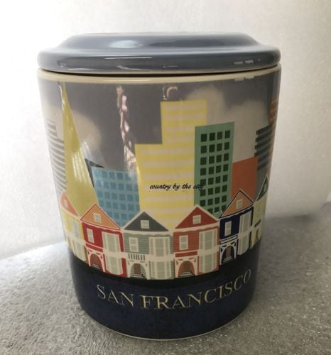 San Francisco Cookie Treat Canister
