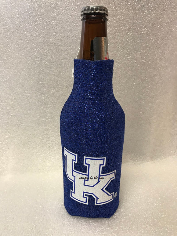 University of Kentucky Glitter Bottle Coolie
