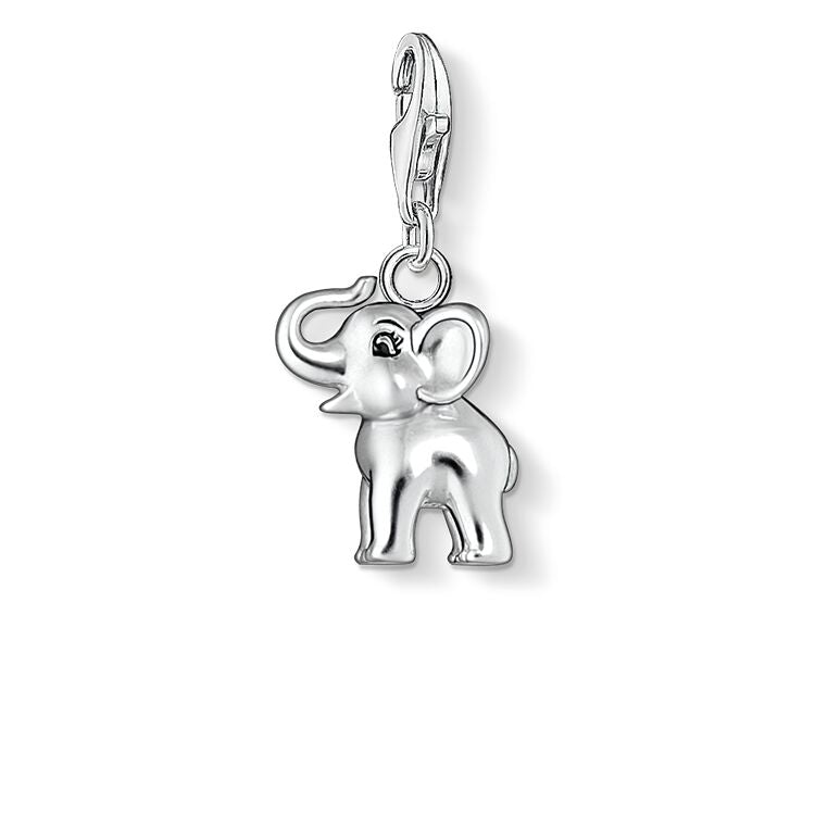 STERLING SILVER C/CLUB LUCKY ELEPHANT CHARM