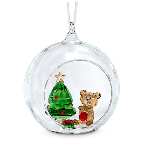 BALL ORNAMENT CHRISTMAS SCENE