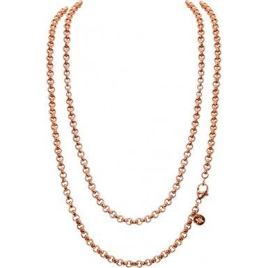 ROSE GOLD PLATED 3MM BELCHER NECKLET 80CM