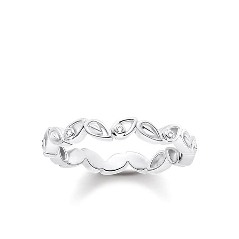 LOTUS PETALS DIAMOND RING