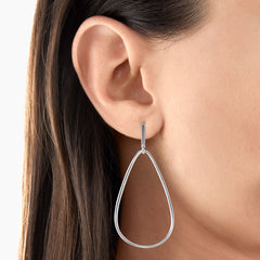STERLING SILVER HERITAGE ORGANIC EARRINGS