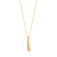 LUXE MINIMALISM LUXE DROP NECKLACE