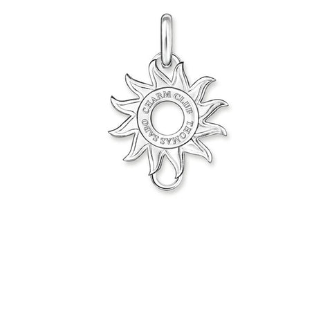 STERLING SILVER C/CLUB SUN RAYS CARRIER