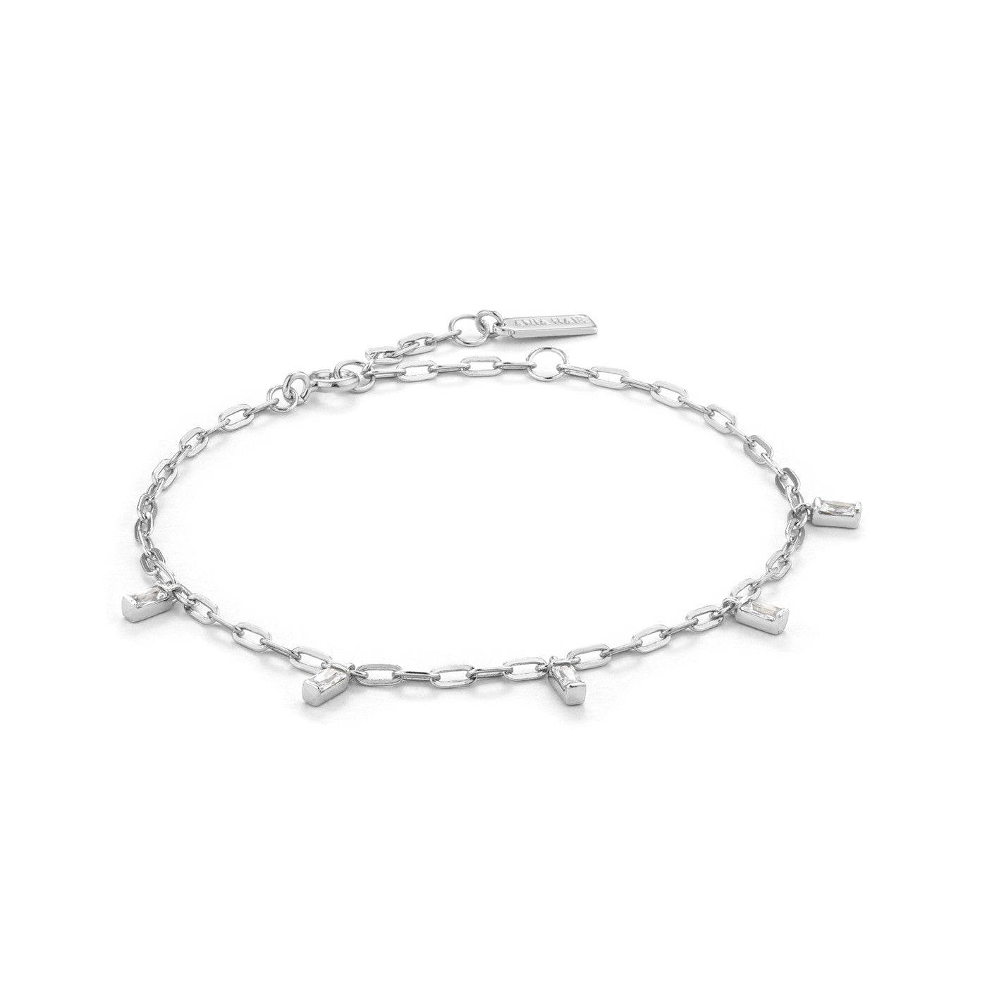 STERLING SILVER GLOW GETTER GLOW DROP BRACELET