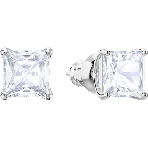 ATTRACT PIERCED EARRING STUDS - RHODIUM PLATING
