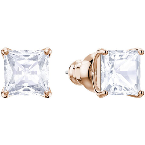 ATTRACT PIERCED EARRING STUDS - ROSE GOLD PLATING