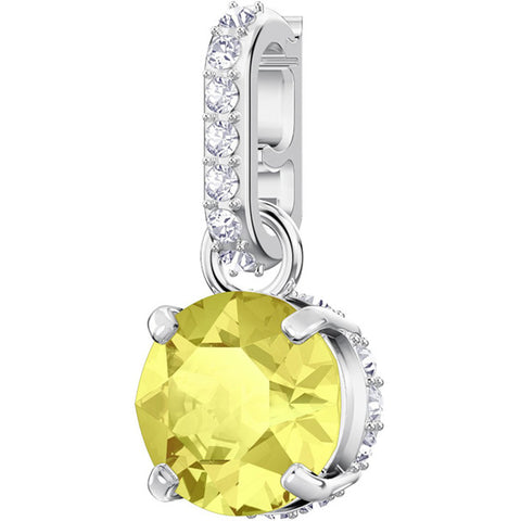 REMIX COLLECTION NOVEMBER CHARM, YELLOW, RHODIUM PLATING