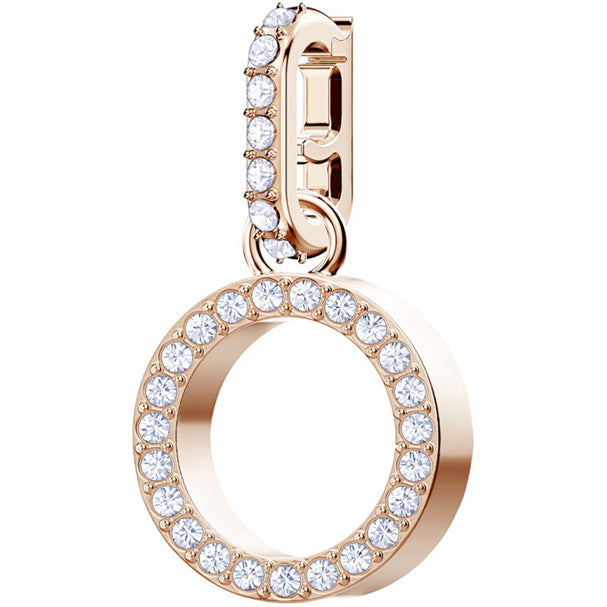 REMIX COLLECTION O CHARM - ROSE-GOLD PLATING