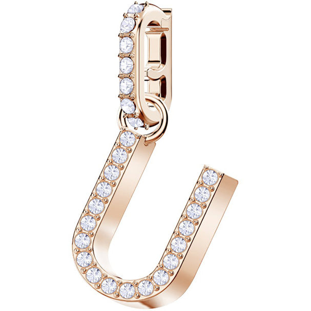 REMIX COLLECTION U CHARM - ROSE-GOLD PLATING