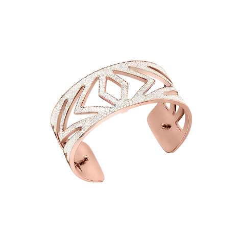 CHEVRONS ROSE GOLD CUFF 25MM