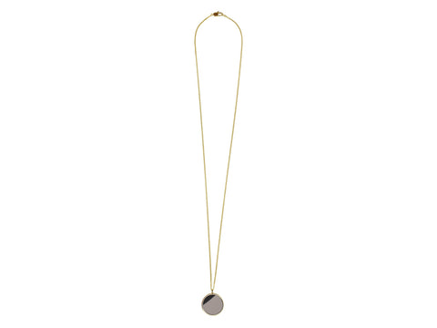Arina Shiny Gold Necklace