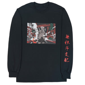 Anarchy Will Reign L/S Tee | Black