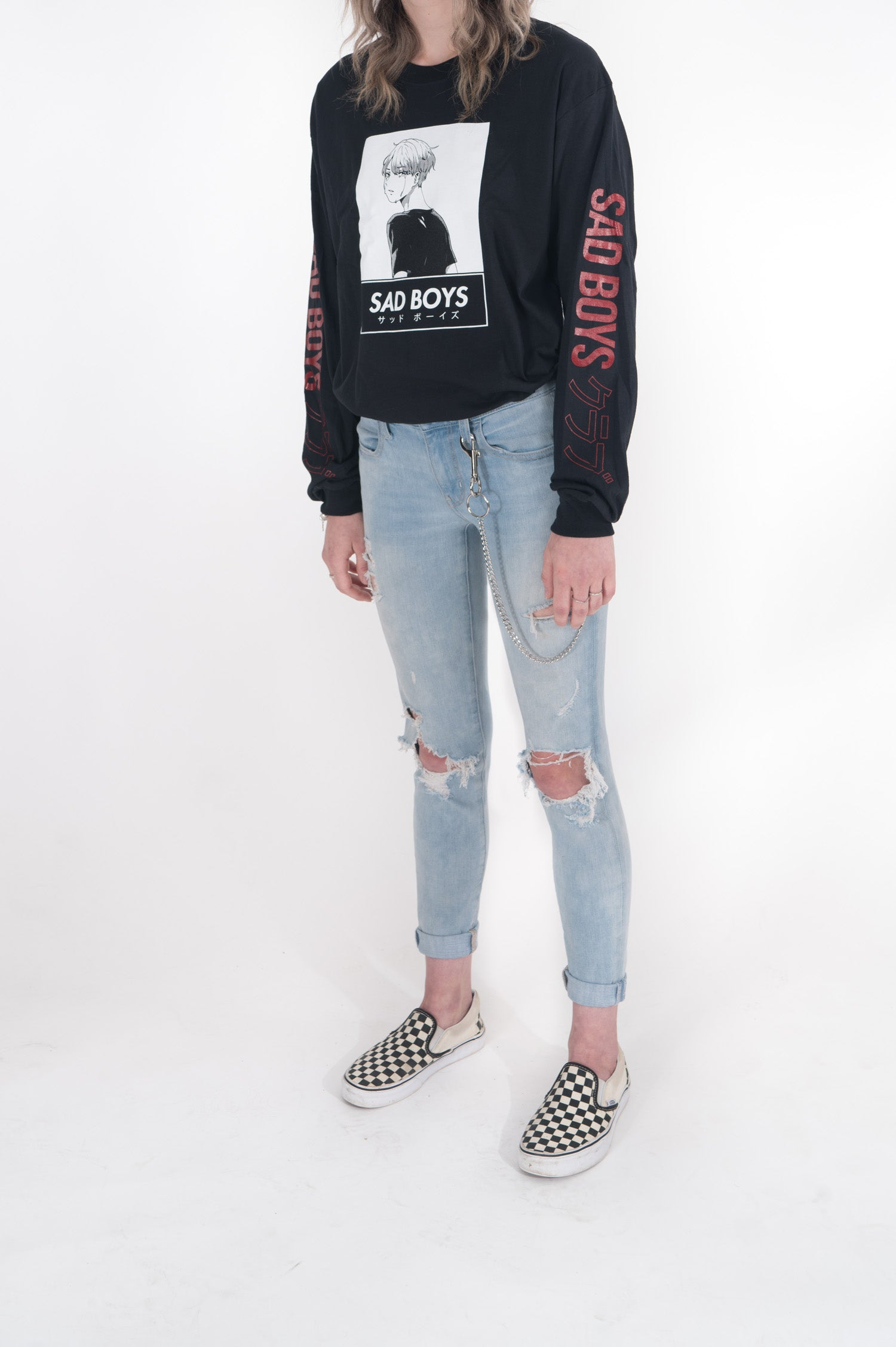 Sad Boys L/S Stay With Me Tee