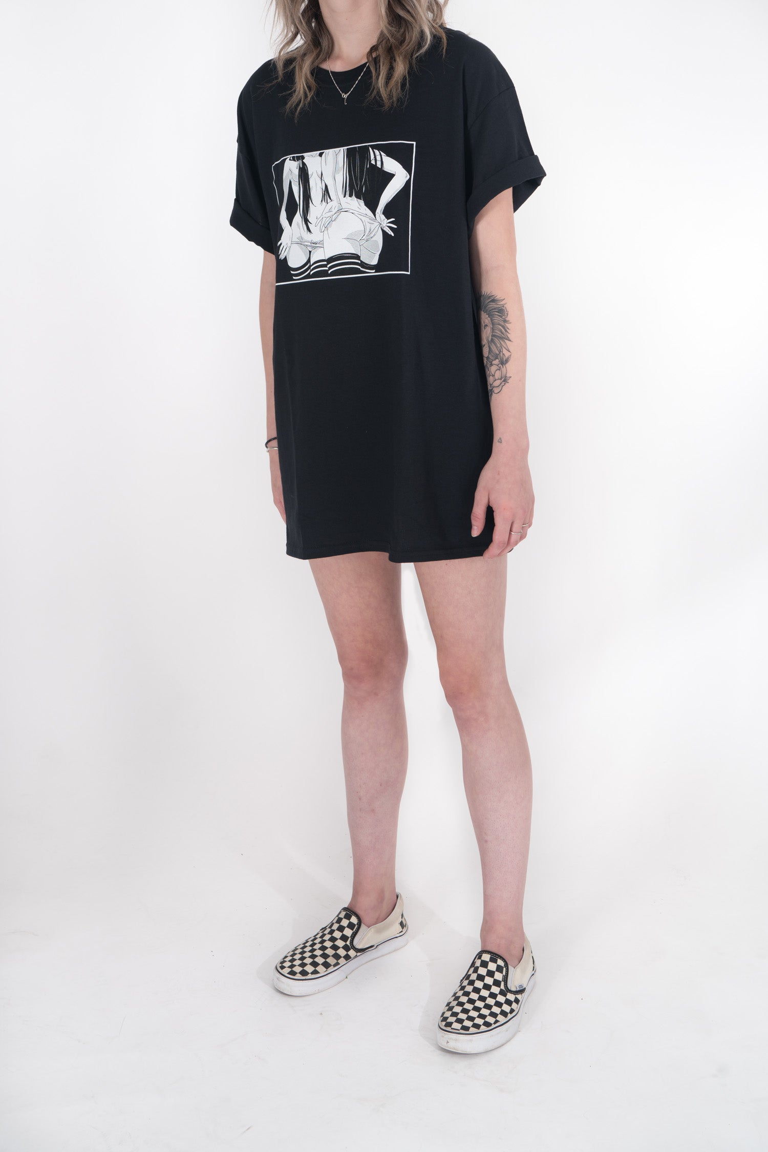 Lewd Girls Young & Reckless Tee