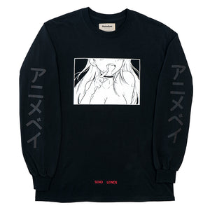 Lewd Girls L/S Drip Tee V2.0