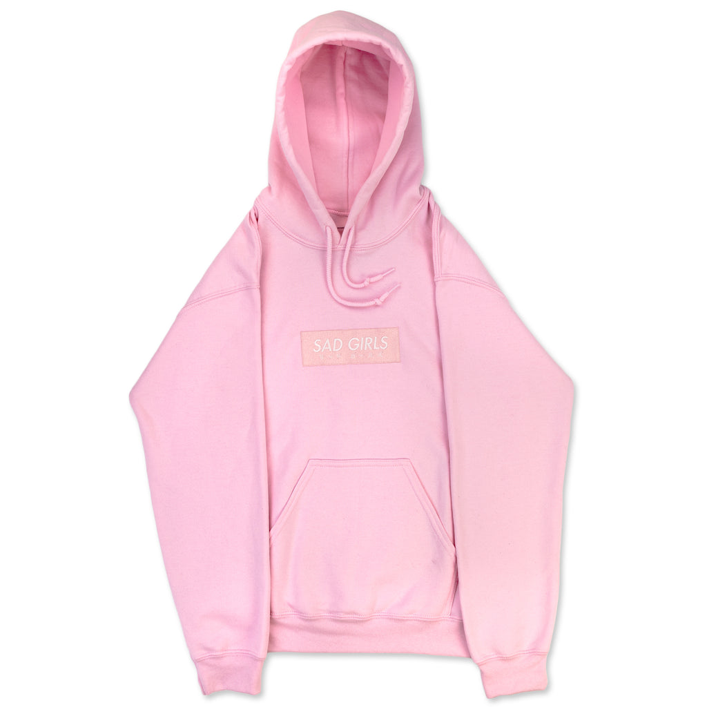 Sad Girls Essential Hoodie | Pink