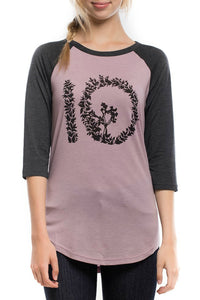 Growth Logo 3/4 sleeve - Tops For Women -  Casual Wear by Tentree - Jolie Folie