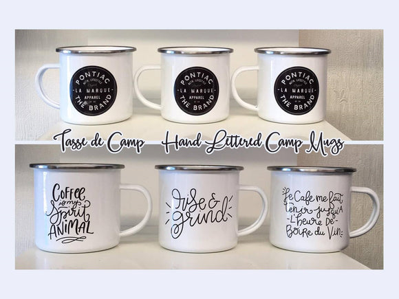 Camp Mugs - Pontiac Brand