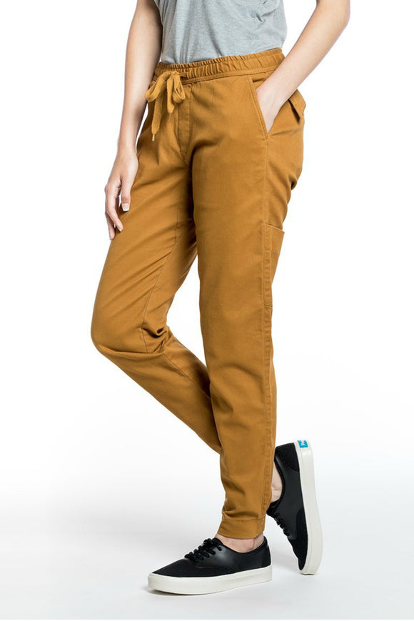 Pacific Pants - Yellow Women pants - By Tentree - Jolie Folie