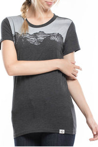 Twilight Tee Black Top - Women's Casual Tshirt - By Tentree - Jolie Folie