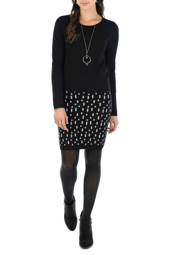 Celestine2 Skirt in Black - Schwiing