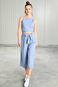 Light Blue Culottes | 24 Colours