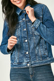 Katie Denim Jacket - Dark Random Vintage | Mavi