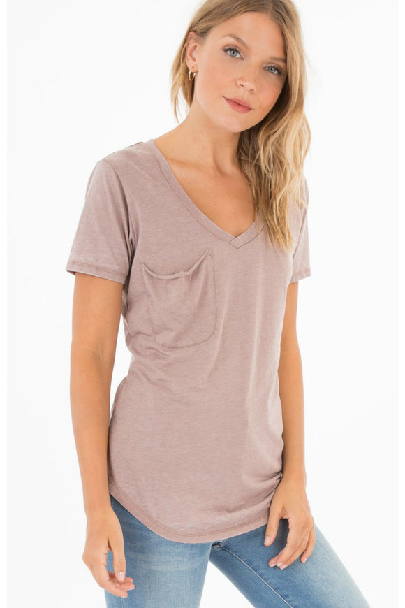 Taupe Pocket Tee | Z Supply