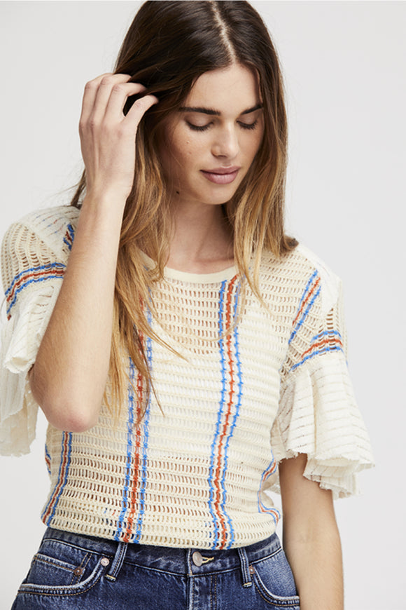 Striped Babes Only Tee | Free People