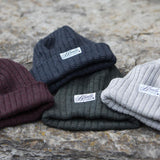 Thick Rib Cranberry Toque | Blondie Apparel
