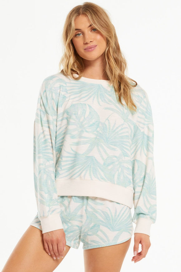 Elle Palm Pullover | Z Supply