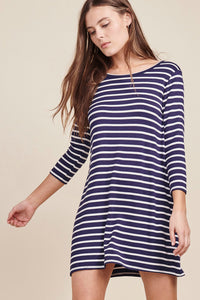 Adelene Striped Dress - BB Dakota