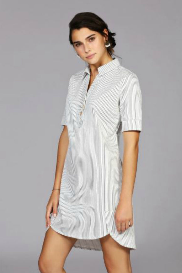 Adriana Striped Tunic | Schwiing