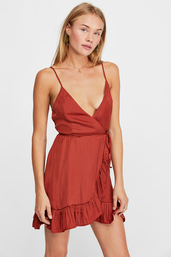 All My Love Shine Wrap Dress | Free people