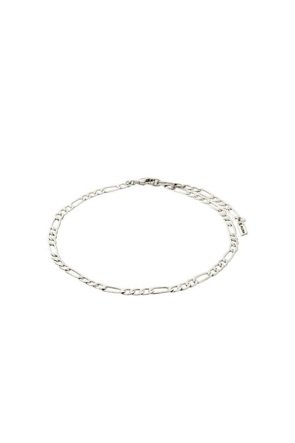 women's silver ankle chain