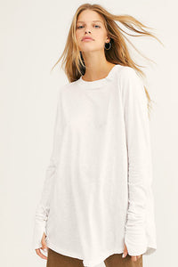 Arden Tee - White | Free People