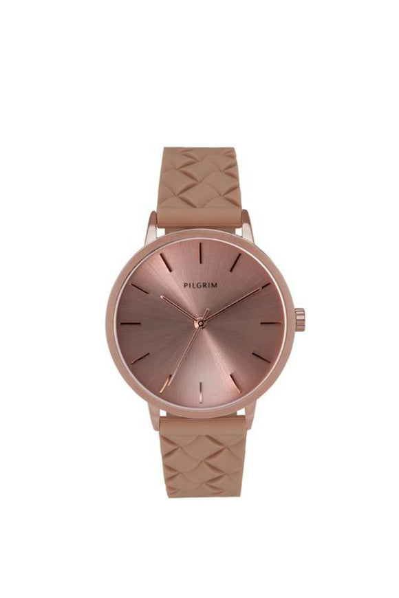 Aster Rose Gold plated Watch | Pilgrim
