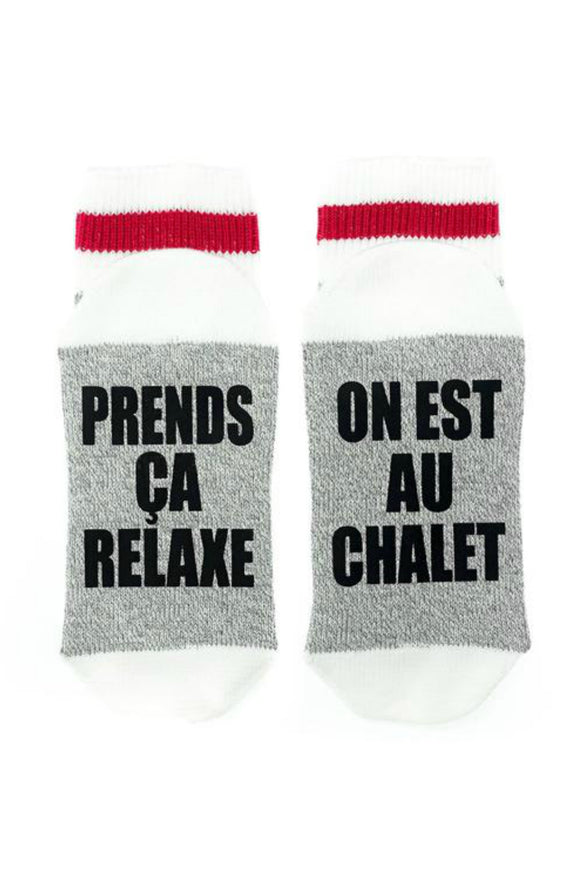 Prends Ça Relaxe - On Est Au Chalet | Sock Dirty To Me