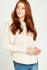 batwing cream sweater by apricot