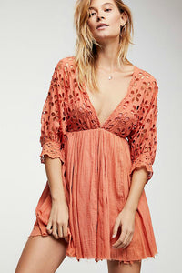 Bella Note Eyelet Dress | Free People