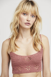 Berkinette Crochet Cami Top | Free People