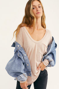 Betty long sleeve tee by free people