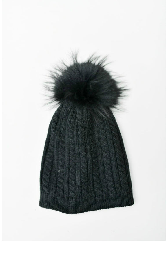 Black Toque | Tom & Eva